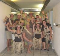 Auffuehrung Gruppenphoto Tarzan
