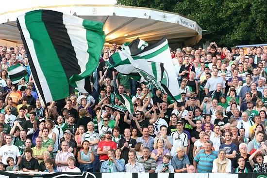 Fans SC Preussen Muenster Pokal Hertha BSC Berlin