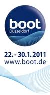 Logo der boot 2011 in Düsseldorf