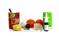 Nasentropfen, Teebecher, Mandarine, Erkaeltung_by_pixelio