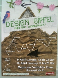 Design Gipfel Muenster 2011 Plakat