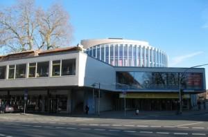 Fassade Staedtische Buehnen Muenster Grosses Haus