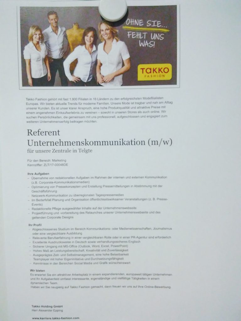 Referent_Unternehmenskommunikation_Takko_Fashion_Muenster