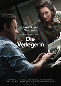 Plakat zum Die Verlegerin mit Tom Hanks und Merryl Streep