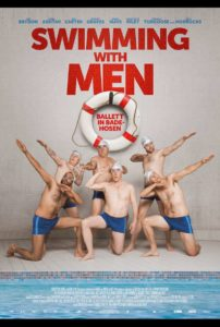 "Plakat zum Film ""Swimming with Men"""