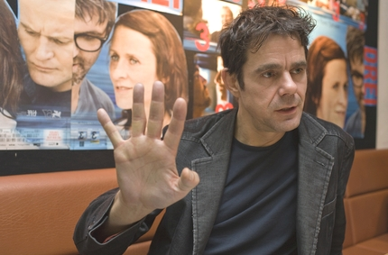 Tom Tykwer im Interview im Cinema Münster mit Christian Gertz