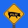 Schweinegrippe Schild