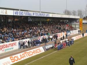 Tribuene Lotte Spiel gegen den SC Preussen Muenster 2011