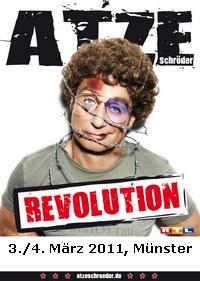 Plakat Comedian Atze Schroeder Plakat Revolution