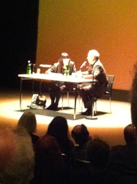 Literaturbegegnung Friederike Mayröcker Städt. Bühnen Münster 2011