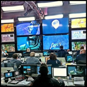 Ad Nystrom, Social Media Red Bull Stratos Mission Control Center