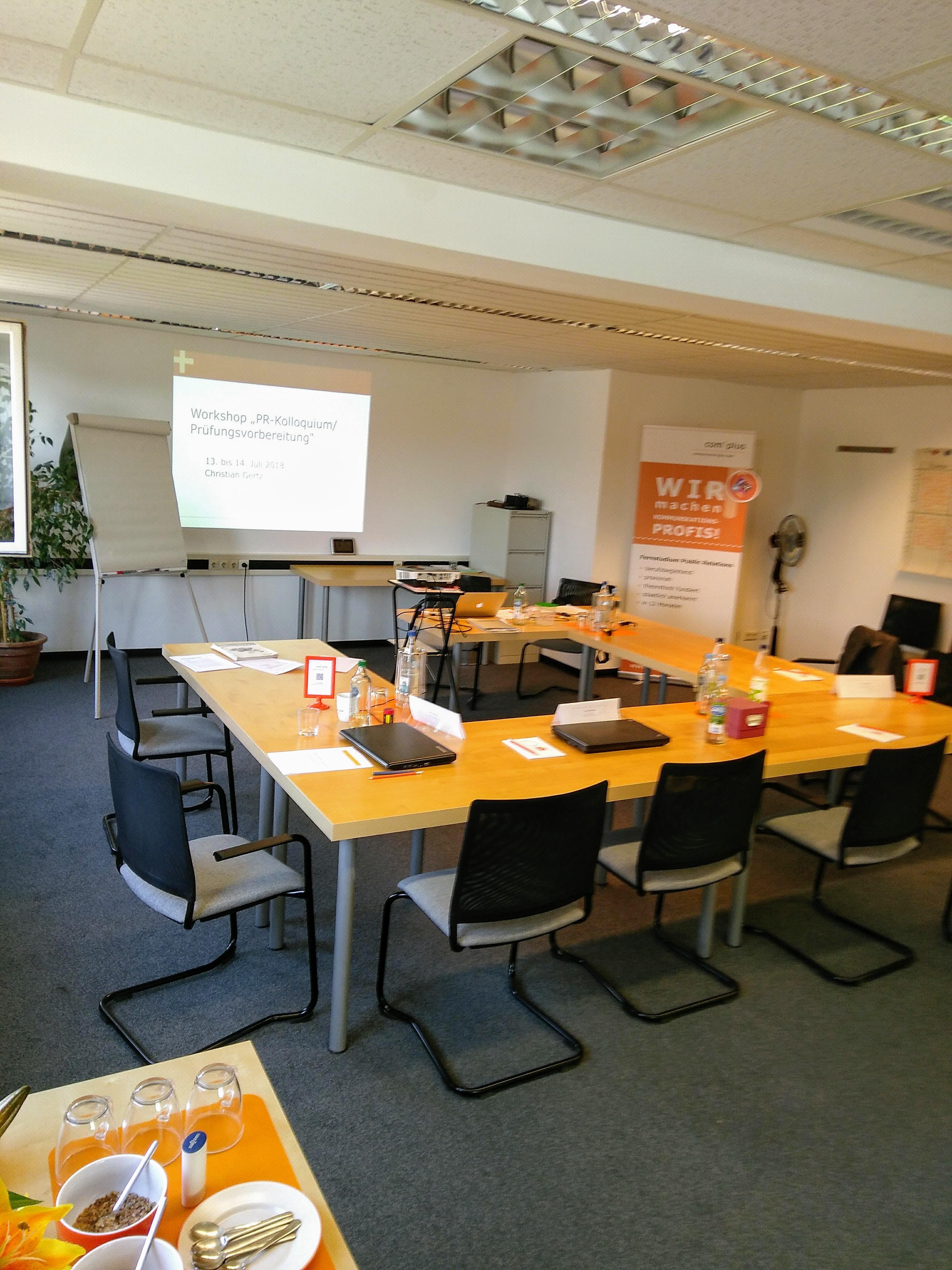 Foto aus dem complus Workshop Pruefungsvorbereitung - Juni 2018 (c) C. Gertz