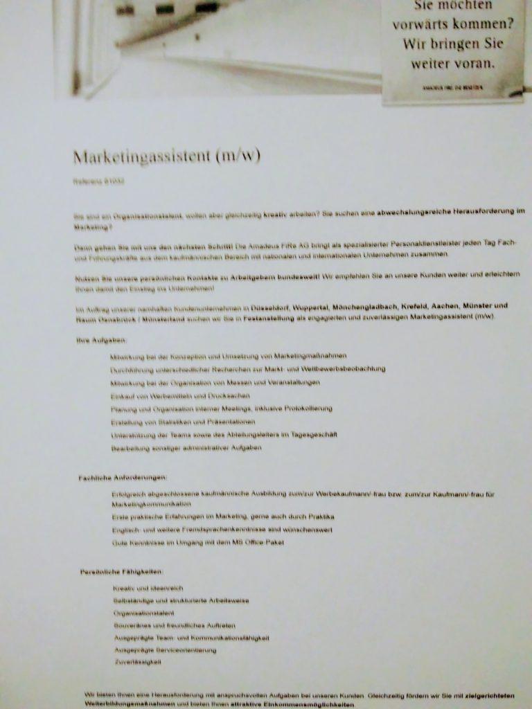 Stellenangebot-AmadeusFire-Marketing