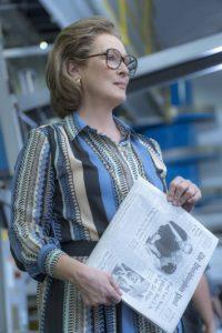 Szene aus dem Film Die Verlegerin mit Merryl Streep