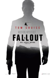 """Plakat """"M:I-Fallout"""", (c) 2018 Paramount Pictures"""